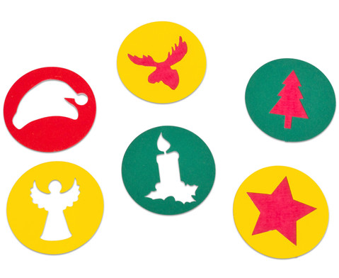 Girlande Weihnachten 6 Stueck-5