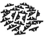 Bügelperlen-Motivstützen, 25 Stück