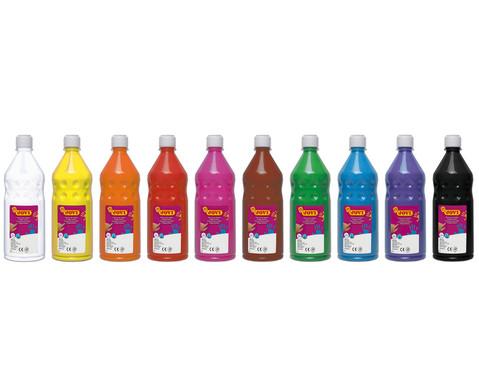 JOVI Fingermalfarben 750ml verschiedene Farben