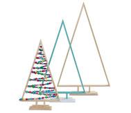 Weihnachtsbäume, 3er Set 40, 50 und 60cm hoch