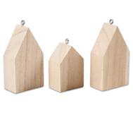 Hängende Häuser, 3 Stück