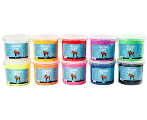 Foam Clay Foam Clay 10x 560g in 10 Farben