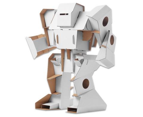 Roboter aus Pappe zum Selbstgestalten-1