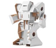 Roboter aus Pappe zum Selbstgestalten