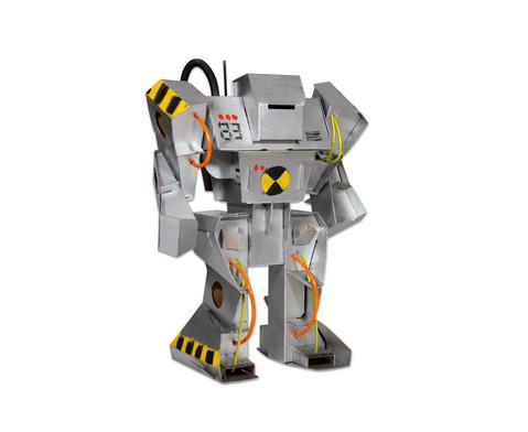 Roboter aus Pappe zum Selbstgestalten-2
