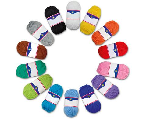 Acrylgarn-Set 14 Farben