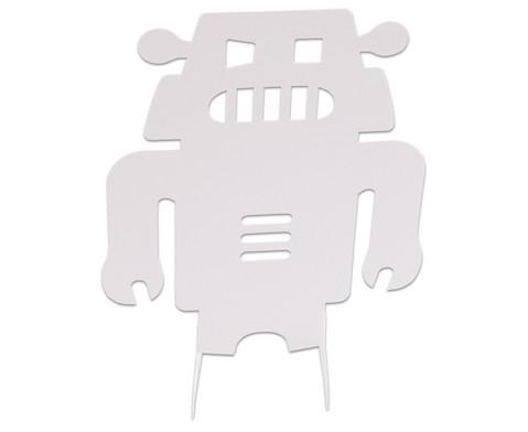 Stehende Roboter 24 Stueck aus Karton-5