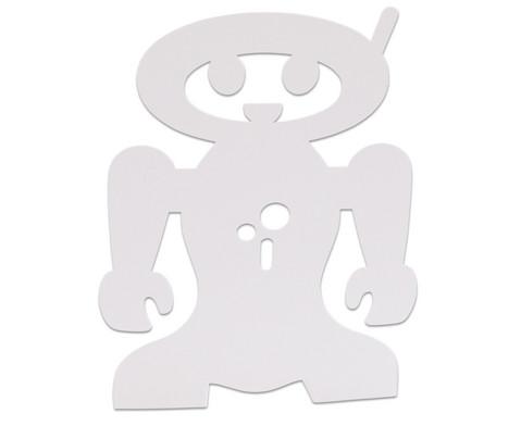 Stehende Roboter 24 Stueck aus Karton-6