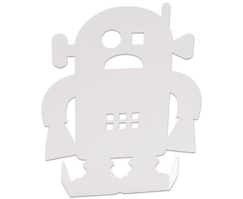 Stehende Roboter 24 Stueck aus Karton-8