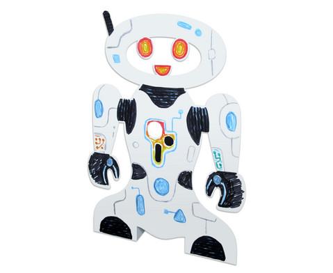 Stehende Roboter 24 Stueck aus Karton-9