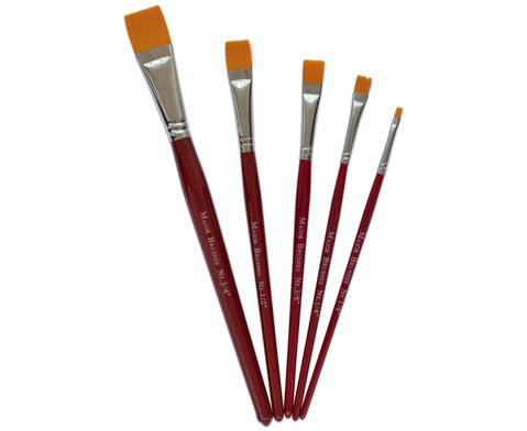 Borstenpinsel-Set mit 5 Pinseln-2