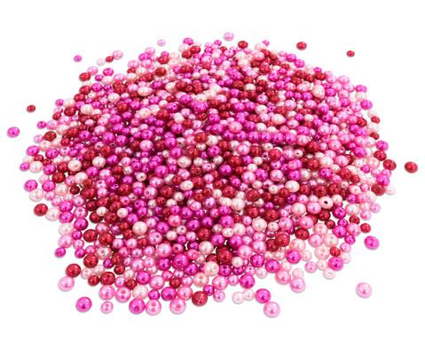 Betzold Metallicperlen-Set Pink-Toene