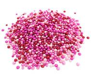 Metallicperlen-Set, Pink-Töne