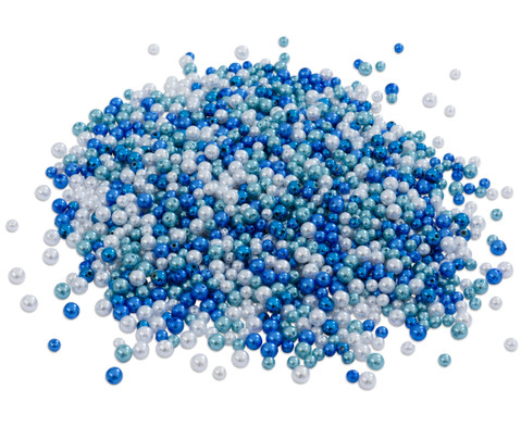 Betzold Metallicperlen-Set Blau-Toene