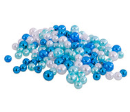 Metallicperlen-Set, Blau-Töne