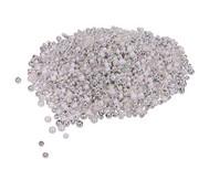 Metallicperlen Silber-Töne, 250g