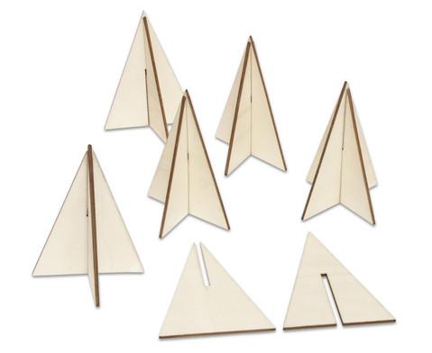 Weihnachtsbaum 3D 6 Stueck-2