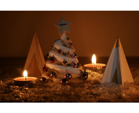 Weihnachtsbaum 3D 6 Stueck-5
