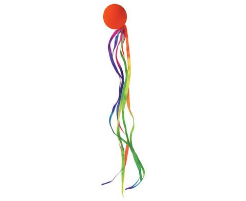 Betzold Sport Farbiger Ribbon-Ball 2 Stueck