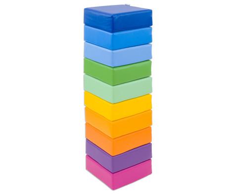 Betzold Sitzkissen Regenbogen 10-tlg