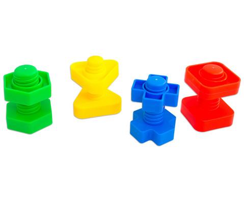 Buntes Schrauben-Spiel 64-tlg-3