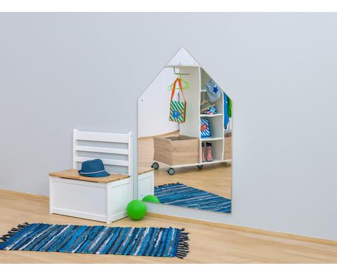 EduCasa Spiegel in Haus-Form-4