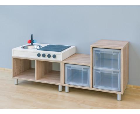educasa aufsatz k che. Black Bedroom Furniture Sets. Home Design Ideas