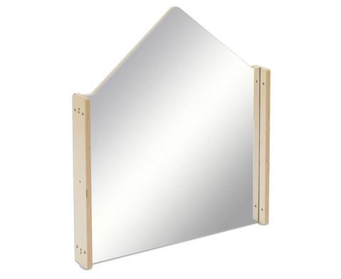 EduCasa Trennwand Haus mit Acrylglasspiegel