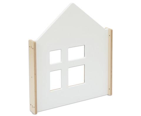 EduCasa Trennwand Haus mit Fenster