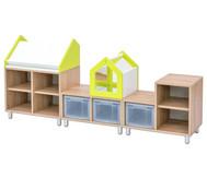 EduCasa Kombination Lesepult und Spiegelhaus