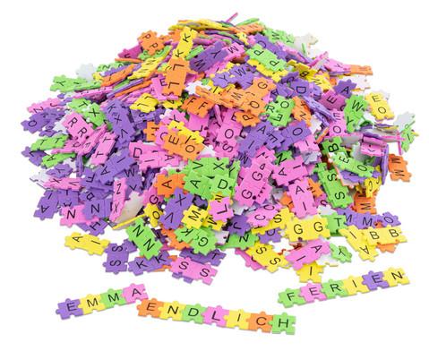 Puzzle-Moosgummi-Buchstaben
