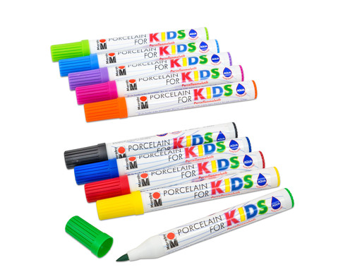 Marabu Porzellanstifte Kids 5er-Set