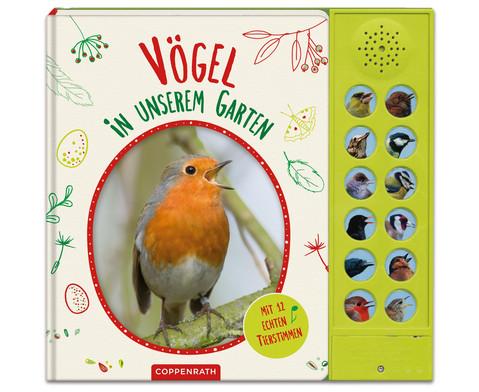 Voegel in unserem Garten Soundbuch