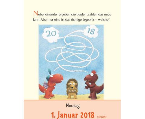 Der kleine Drache Kokosnuss - Abreisskalender 2018-2