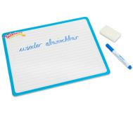 Lerntafel - schreib und wisch weg