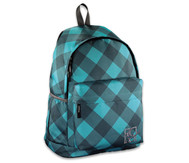 Schulrucksack Blue Dream Check