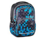Schulrucksack Blue Pixel
