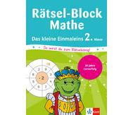 Rätsel-Block Mathe - das kleine Einmaleins
