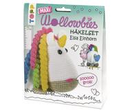 Wollowbies: Häkelset Einhorn Elsa