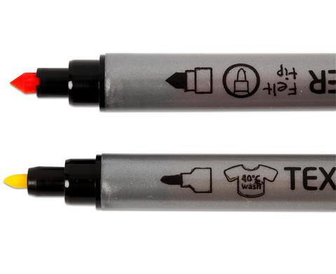 Textilmalstifte Duo 20 Stueck-6