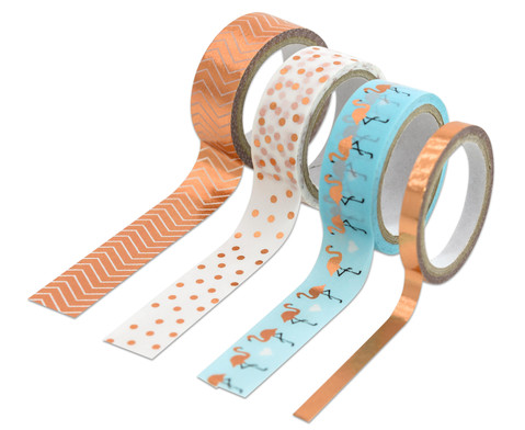 Washi Tape Klebeband 4er  Set