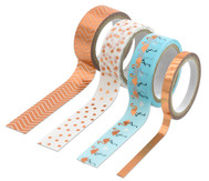Washi Tape Klebeband 4er  Set