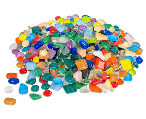 Mosaiksteine Softglas bunter Mix 600 g