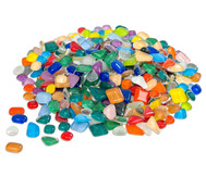 Mosaiksteine Softglas bunter Mix, 600g