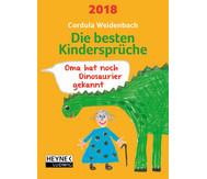 Abreißkalender - die besten Kindersprüche 2018