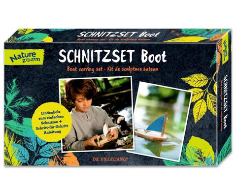 Schnitzset Boot-1