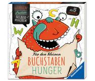 Rätselblock: Rätselspaß für den kleinen Buchstaben Hunger