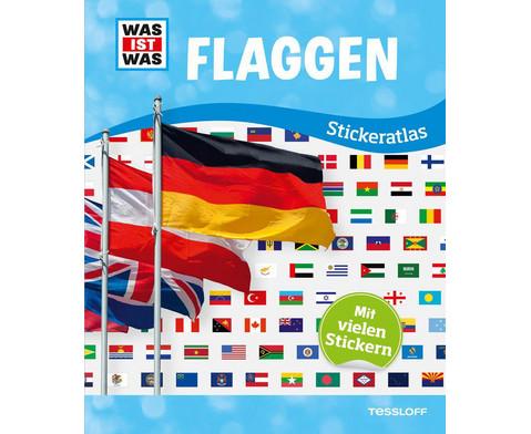 Was ist Was - Stickeratlas Flaggen-1