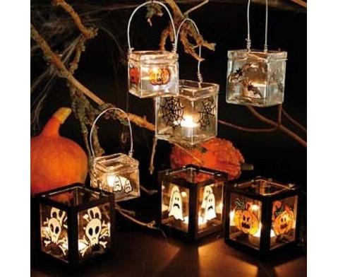Windlichter-Set aus Glas 12 Stueck-4