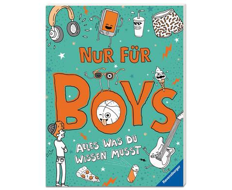 Nur fuer Boys - Alles was du wissen musst